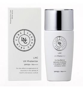 GHC Placental Cosmetic LNC UV Protector SPF50+ PA++++ / Крем для профилактики фотостарения, 40 мл