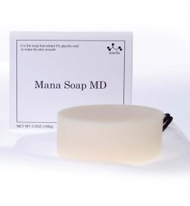 GHC Placental Cosmetic Anela Mana Soap MD (5% glycolic acid) / Мыло с гликолевой кислотой 5%, 100 г