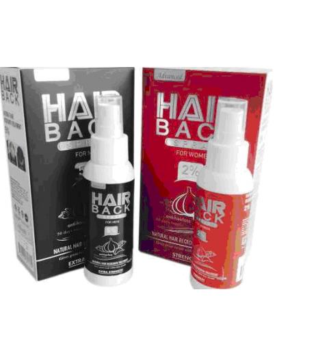 Hair Back Spray Cosmoactive / Лосьон-спрей с миноксидилом 2% для женщин, 100 мл