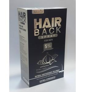 Hair Back Spray Cosmoactive / Лосьон-спрей с миноксидилом 5% для мужчин, 100 мл