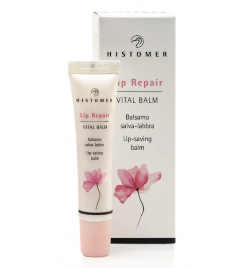 Histomer (Хистомер) Lip Vital Balm / Восстанавливающий крем-бальзам для губ, 15 мл