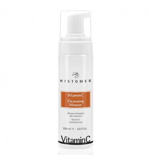Histomer (Хистомер) Vitamin C Cleansing Mousse / Очищающий мусс с витамином C, 200 мл