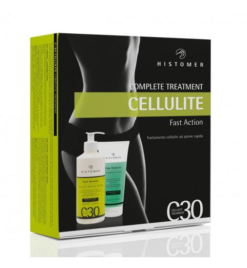 Histomer (Хистомер) C30 Complete Treatment Cellulite / Комплексный уход C30 (скраб Drain O2, антицеллюлитный крем С30), 200+400 мл