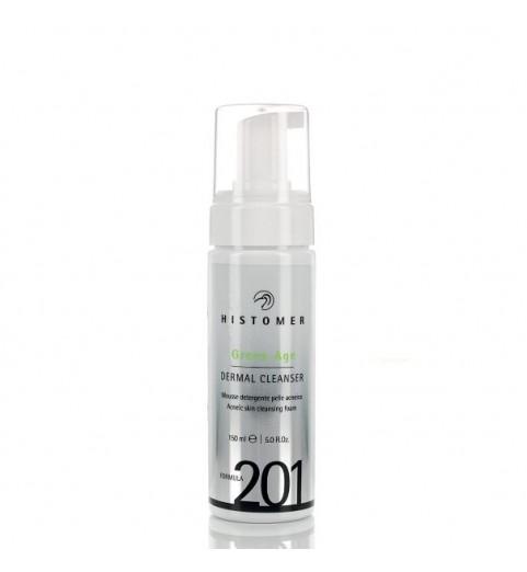 Histomer (Хистомер) FORMULA 201 Green Age Dermal Cleanser / Очищающий мусс для проблемной кожи Грин-Эйдж, 150 мл