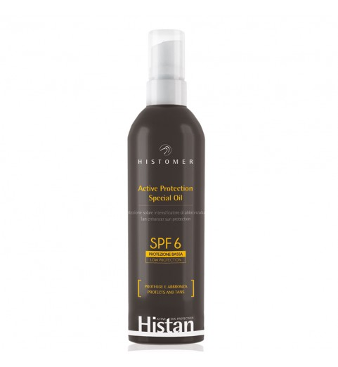 Histomer (Хистомер) Active Protection Oil SPF 6 / Масло-бронзатор для лица и тела SPF 6, 200 мл