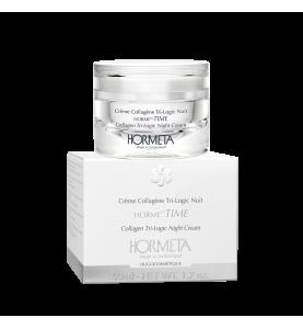 Hormeta (Ормета) HormeTime Collagen Tri-Logic Night Cream / ОрмеТайм Ночной коллагеновый крем тройного действия, 50 мл