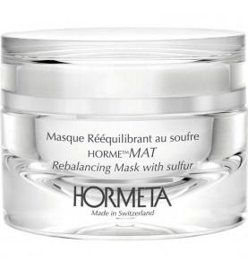Hormeta (Ормета) HormeMat Rebalancing Mask with sulfur / ОрмеМатирование Нормализующая маска с серой, 50 мл