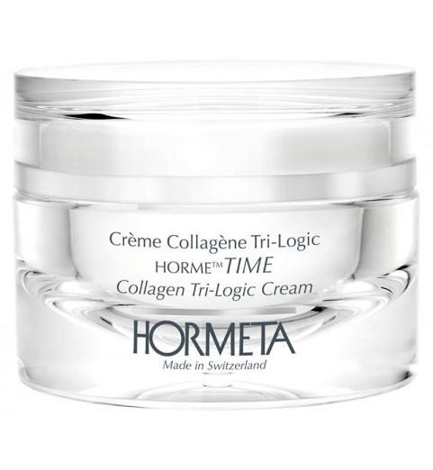 Hormeta (Ормета) HormeTime Collagen Tri-logic cream / ОрмеТайм Дневной коллагеновый крем тройного действия, 50 мл