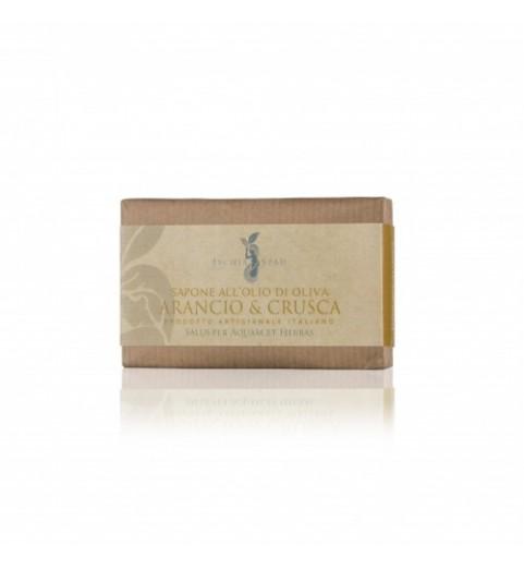Ischia Spaeh Sapone Arancia e Crusca / Натуральное мыло с отрубями и апельсином, 100 г