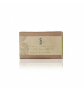 Ischia Spaeh Sapone Elicriso e Limone / Натуральное мыло с бессмертником и лимоном, 100 г