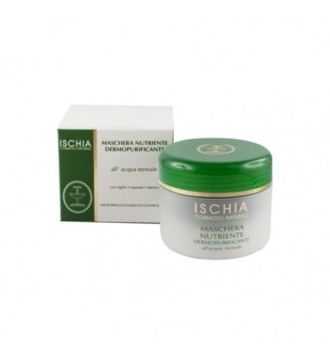 Ischia (Искья) Maschera Nutriente Dermopurificante / Питательная дермоочищающая маска для лица, 100 мл