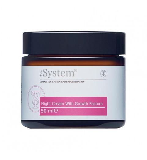 iSystem (Ай Систем) Night Cream with Growth Factors / Крем ночной с факторами роста, 50 мл