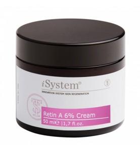 iSystem (Ай Систем) Retin A 6% Cream / Увлажняющий крем с ретинолом 6%,  50 мл