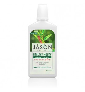 """Jason Healthy Mouthwash / Ополаскиватель для рта """"Чайное дерево"""", 473 мл"""