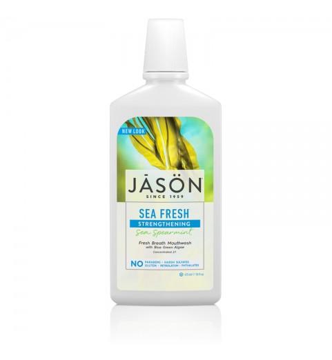 Jason Sea Fresh® Sea Peppermint Mouthwash / Морской ополаскиватель для рта с мятой, 473 мл