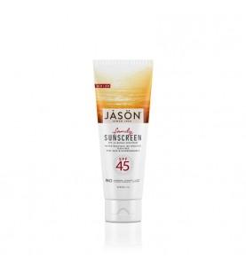 Jason Sunblock Family Natural Spf 45 / Натуральное солнцезащитное средство для всей семьи SPF 45, 120 мл