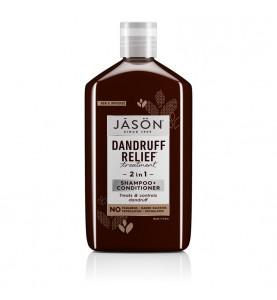 Jason Dandruff Relief Shampoo+Conditioner 12 Oz / Шампунь с кондиционером от перхоти, 355 мл