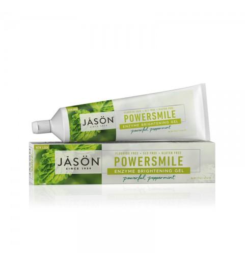 Jason Powersmile Enzyme Toothpaste (Fluoride-Free) / Гелевая зубная паста ферментативная, 125 г