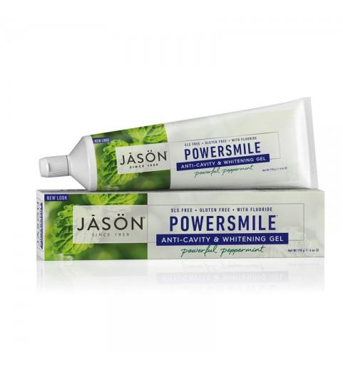 """Jason Powersmile Gel Paste / Гелевая зубная паста """"Сила улыбки"""" с фтором, 170 г"""