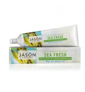 "Jason Sea Fresh Gel Paste / Гелевая зубная паста ""Морская свежесть"" с фтором, 170 г"
