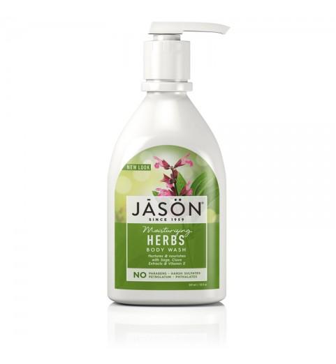 """Jason Herbal Body Wash / Гель для душа """"Травы"""", 887 мл"""