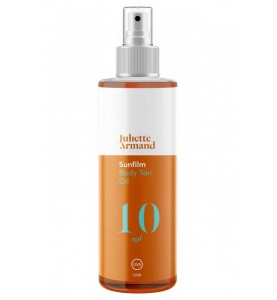 Juliette Armand Body Tan Oil SPF 10 / Масло для интенсивного загара SPF 10, 200 мл