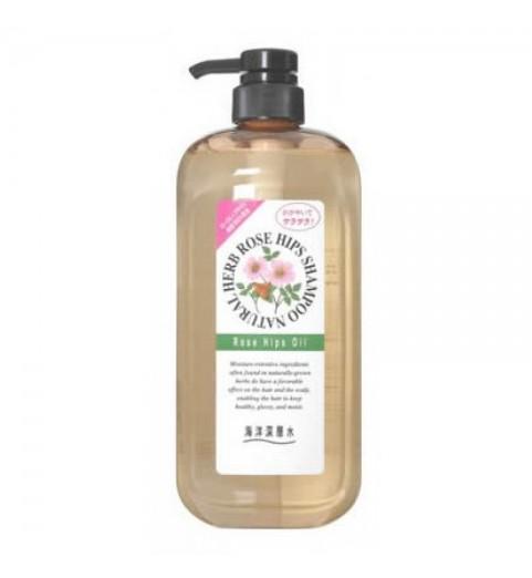 Junlove Natural Herb Shampoo / Шампунь на основе натуральных растительных компонентов (с маслом шиповника, для нормальных волос), 1000 мл