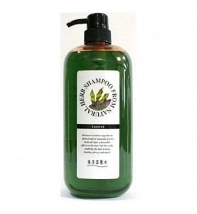 Junlove Natural Herb Shampoo / Шампунь на основе натуральных растительных компонентов (с экстрактом бурых водорослей, для сильно поврежденных волос), 1000 мл