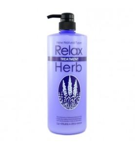 Junlove Relax Herb Treatment / Растительный бальзам для волос с расслабляющим эффектом(с маслом лаванды), 1000 мл