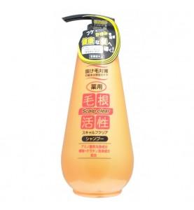 Junlove Scalp Clear Shampoo / Шампунь для укрепления и роста волос, против перхоти, 500 мл