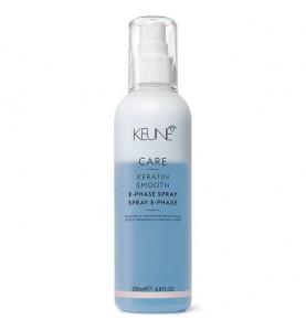 Keune Care Keratin Smooth 2 Phase Spray / Двухфазный Кондиционер-спрей Кер. комплекс, 200 мл