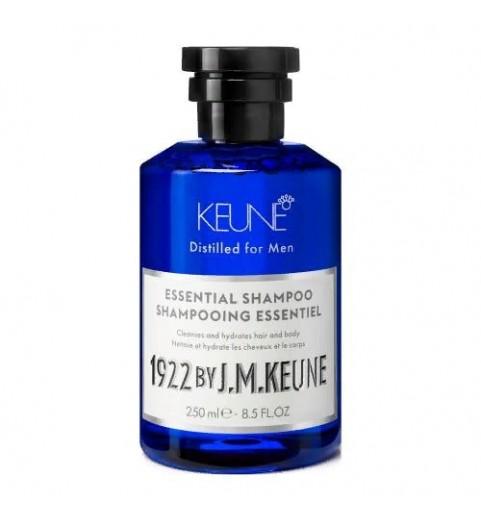 Keune 1922 Essential Shampoo / Универсальный шампунь для волос и тела, 250 мл