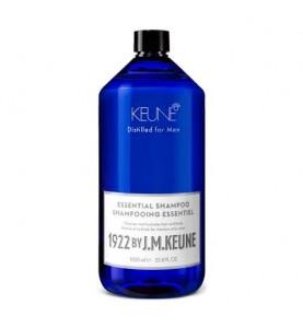 Keune 1922 Essential Shampoo / Универсальный шампунь для волос и тела, 1000 мл