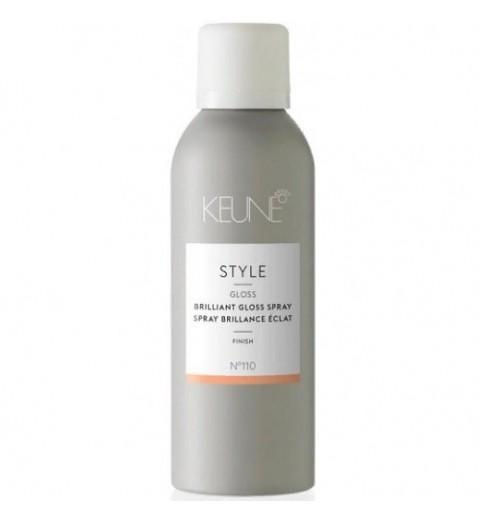 Keune Style Brilliant Gloss Spray / Стиль Блеск-спрей бриллиантовый, 75 мл