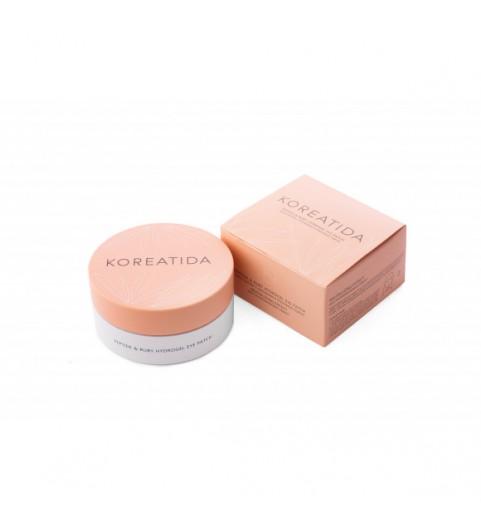 Koreatida Peptide & Ruby Hydrogel Eye Patch, standart pack / Патчи для глаз с пептидами и рубиновой пудрой, 60 шт