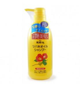 Kurobara Camellia Oil Hair Shampoo / Шампунь для поврежденных волос с маслом камелии японской, 500 мл