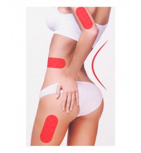 Lamucha Slim Body Liner Spot Care / Стикеры для борьбы с жировыми отложениями, 10 шт.