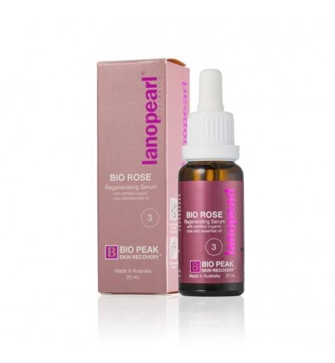 Lanopearl Bio Rose / Регенерирующая сыворотка для средних морщин, 25 мл