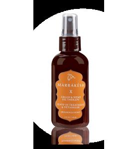 Marrakesh (Марракеш) X Leave-in treatment / Несмываемый спрей-кондиционер для тонких волос (мандарин и слива), 118 мл