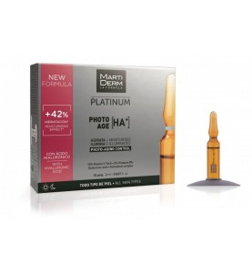 Martiderm Platinum Photo-Age / Ампулы Коррекция фотостарения Гиалуроновая кислота +, 10x2 мл