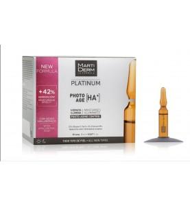 Martiderm Platinum Photo-Age / Ампулы Коррекция фотостарения Гиалуроновая кислота +, 30x2 мл