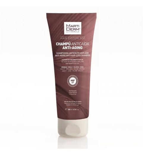 Martiderm Hair System 3GF Anti Aging Anti Hair-Loss Shampoo / Шампунь против выпадения волос, 200 мл