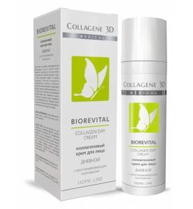 Medical Collagene 3D Biorevital Day / Дневной коллагеновый крем для лица с восстанавливающим комплексом, 30 мл