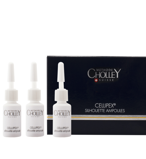 Methode Cholley Cellipex Silhouette Ampoules / Концентрат (ампулы) для тела Целлипекс, 10 х 7 мл
