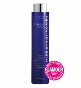Miriam Quevedo (Мириам Кеведо) Extreme Caviar Purifying Charcoal Shampoo / Шампунь для глубокого очищения с углем и экстрактом черной икры, 250 мл