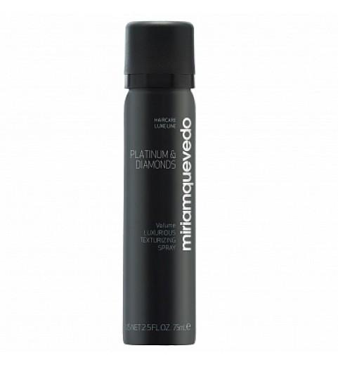 Miriam Quevedo (Мириам Кеведо) Platinum & Diamonds Luxurious Texturizing Spray / Бриллиантовый текстурирующий спрей-люкс, 75 мл