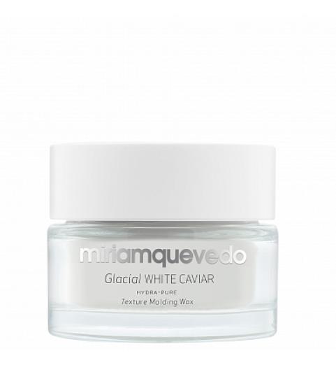 Miriam Quevedo (Мириам Кеведо) Glacial White Caviar Hydra-Pure Texture Molding Wax / Увлажняющий моделирующий воск для волос с маслом прозрачно-белой икры, 50 мл