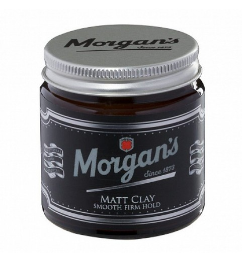 Матовая глина с кератином для укладки Morgans Matt Clay, 120 мл