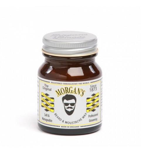 Воск для бороды и усов Morgans, 50 г