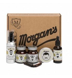 Подарочный набор для ухода за бородой и усами Morgans